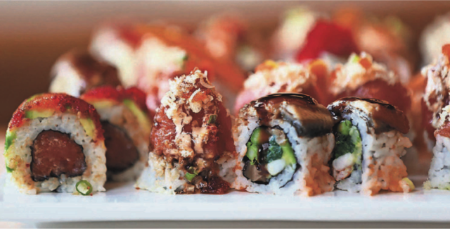 Godzilla Roll, Unbelievable Roll, Baby Monster Roll