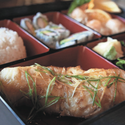 Bento Box with Chilean Sea Bass - <p>As featured in the Daily Record.</p>